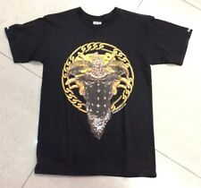 Crooks & Castles, Bronze Medusa T Shirt, Black