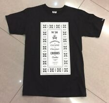Crooks & Castles, Large Logo T Shirt, Black