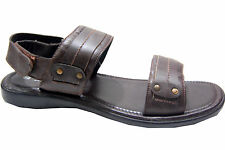 INRICH BRANDED  LEATHER SANDAL  IN BROWN  COLORS MRP 1499 60 % DISCOUNT 599