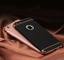Original Electroplated Luxury Look 3 in 1 Back Cover Case For iPhone 6,6S, 7