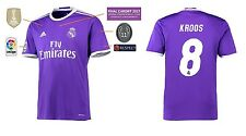Trikot Real Madrid Away Champions League Final Cardiff 2017 - Kroos 8 [164-XXL]