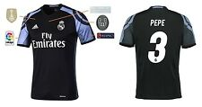Trikot Real Madrid Third Champions League Final Cardiff 2017 - Pepe [164-XXL]