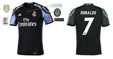 Trikot Real Madrid Third Champions League Final Cardiff 2017 - Ronaldo CR7