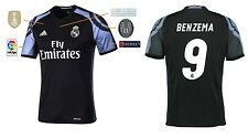 Trikot Real Madrid Third Champions League Final Cardiff 2017 - Benzema [164-XXL]