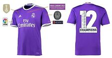 Trikot Real Madrid Away Champions League Final Cardiff 2017 - 12 Duodecima