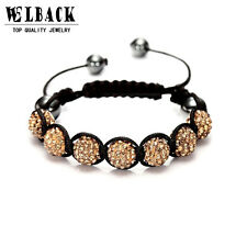 Fashion Shambhala Jewelry New Mix Colors Sales Promotion 10mm Crystal AB Clay...