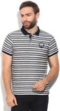 Lee Striped Mens Polo Neck  T-Shirt-5441-J9C