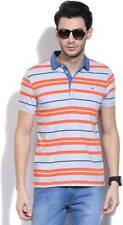 United Colors of Benetton Striped Mens Polo Neck T_Shirt-5441-IR7