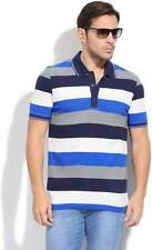 Puma Striped Mens Polo Neck T-Shirt-5441-INI
