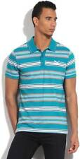 Puma Striped Mens Polo Neck T-Shirt-5441-J2V