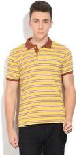 Van Heusen Striped Mens Polo Neck T- Shirt-5441-JFZ