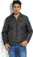 Fort Collins Full Sleeve Solid Mens Quilted Jacket (Flat 50% OFF) -DAS