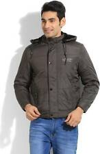Fort Collins Full Sleeve Solid Mens Quilted Jacket (Flat 50% OFF) -D8H