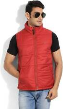 Numero Uno Sleeveless Solid Mens Quilted Jacket (Flat 50% OFF) -CFS