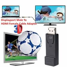 Displayport To HDMI Converter Adapter Displayport Male To HDMI Female Adapter D7