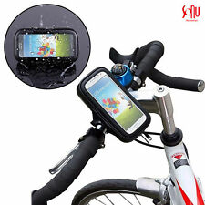 New 360° Waterproof Bicycle Mount Holder Phone Cover For iPhone 5/5s 6/6s 7 8 X