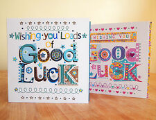 Good luck CARD Special GOOD LUCK greeting card wishing good luck