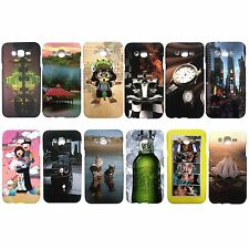 Smart Printed Rubber back cover Cases for Samsung Galaxy J7 (Code-J)