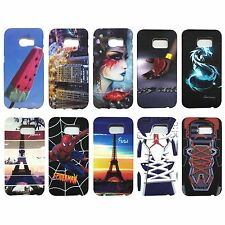 Smart Printed Rubber back cover Cases for Samsung Galaxy S6 Edge (Code-J)