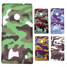 Heartly Army & Strip Style Retro Thin Hard Back Case Cover - Nokia Lumia 520 525