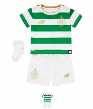 SALDI Nuovi Balance Celtic Home Neonato Kit 2017 2018 Green/White