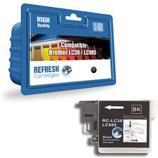 Refresh Cartuchos Negro LC985 Tinta Compatible con Brother Impresoras