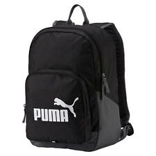 Puma Phase BackPack Black Navy Work School Gym Holiday Sports Backpack 20 L New