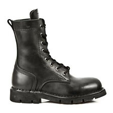 New Rock Gothic EBM Metal Ranger Army Springer Biker Boots Stiefel M.1423-S1