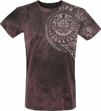 Outer Vision Burned Magic T-Shirt bordeaux