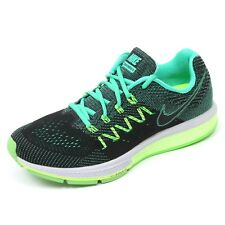 C6124 sneaker donna NIKE AIR ZOOM VOMERO 10 scarpa nero/verde shoe woman