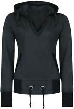 Forplay Patched Hoodie Felpa donna nero