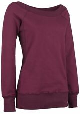 Forplay Sweater Felpa donna rosso vino
