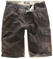 Rock Rebel by EMP Rusty Shorts Pantaloncini marrone
