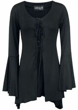 Gothicana by EMP Medieval Princess Cardigan donna nero