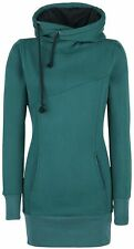 Forplay Smart Hoodie Felpa donna verde acqua