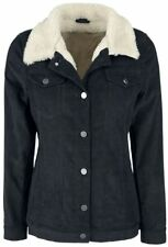 Forplay Cord Jacket with Berber Fleece Giacca donna nero