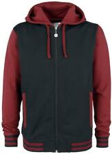 RED by EMP Two Tone Hoodie Jacket Felpa con cerniera nero/rosso