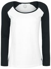 RED by EMP Raglan Ladies Tee Manica lunga donna bianco