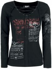 Rock Rebel by EMP Stay Manica lunga donna nero