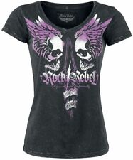 Rock Rebel by EMP Shades Of Truth Maglia donna nero