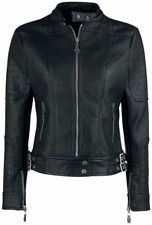 Black Premium by EMP Rock The Night Giacca donna nero