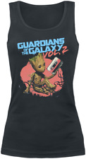 Guardians Of The Galaxy 2 - Groot Tape Top donna nero
