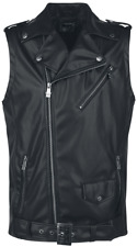 Black Premium by EMP Zip Vest Gilet nero