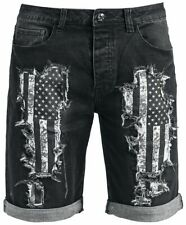 Rock Rebel by EMP Walk With Me In Hell Pantaloncini nero