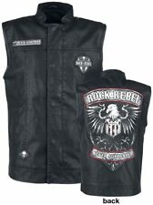 Rock Rebel by EMP Never Surrender Vest Gilet nero