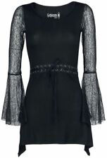 Gothicana by EMP Spider Lace Longsleeve Manica lunga donna nero