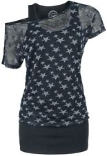 RED by EMP Transparent Stars Ladies Tee Maglia donna nero