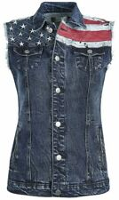 RED by EMP Stars & Stripes Vest Gilet donna blu