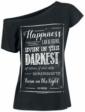 Harry Potter Happiness Can Be Found Maglia donna nero