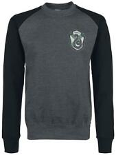 Harry Potter House Slytherin Manica lunga nero/grigio